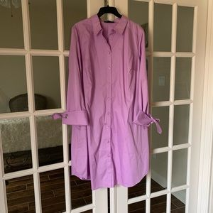 Roamans Lavender Dress